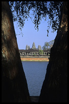 The towers of Angkor Wat. Siem Riep, Angkor, Cambodia