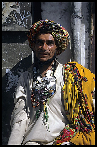 A portrait of a Pashtun tribesman, the world's largest autonomous tribal society. Quetta, Pakistan