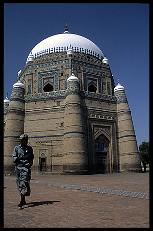 The mausoleum of Sheikh Rukn-i-Alam. Multan, Pakistan