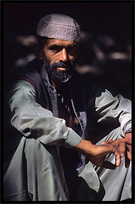 Portrait of a Pashtun farmer. Madyan, Pakistan