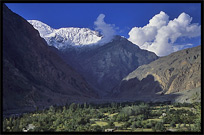 Spectacular vista's along the Karakoram Highway, Pakistan