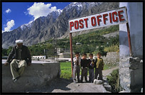 The local post office. Karimabad, Hunza, Pakistan